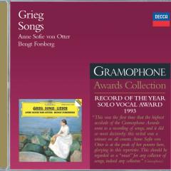 Grieg: Songs - Anne Sofie von Otter, Bengt Forsberg