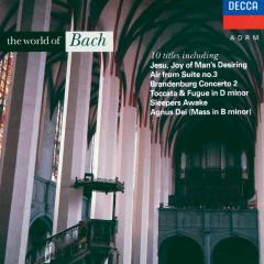 The World of Bach - Henryk Szeryng, Kathleen Ferrier, Peter Hurford, Choir Of St. John's College, Cambridge, George Guest