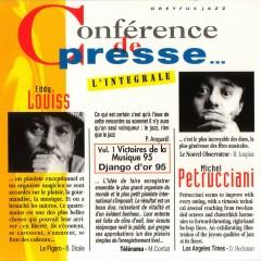 Conférence De Presse (L'intégrale) - Eddy Louiss, Michel Petrucciani