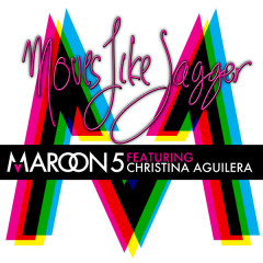 Moves Like Jagger - Maroon 5,Christina Aguilera