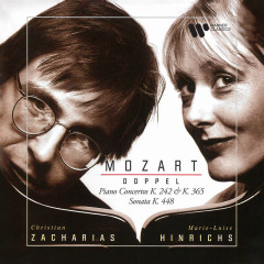 Mozart: Doppel. Concertos for Two Pianos, K. 242 & 365 & Sonata for Two Pianos, K. 448 - Christian Zacharias, Marie-Luise Hinrichs, Bamberger Symphoniker