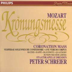 Mozart: Coronation Mass; Vesperae solennes de Confessore; Ave verum corpus - Edith Mathis, Jadwiga Rappé, Hans Peter Blochwitz, Thomas Quasthoff, Rundfunkchor Leipzig