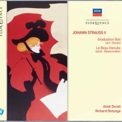 Johann Strauss II: Graduation Ball; Le Beau Danube - Wiener Philharmoniker, Antal Doráti, The National Philharmonic Orchestra, Richard Bonynge