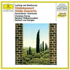 Beethoven: Violin Concerto; Overtures - Christian Ferras, Berliner Philharmoniker, Herbert von Karajan