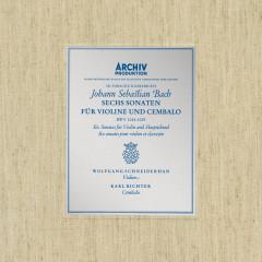 Bach, J.S.: Sonatas for Violin and Harpsichord BWV 1014-1019 - Wolfgang Schneiderhan, Karl Richter