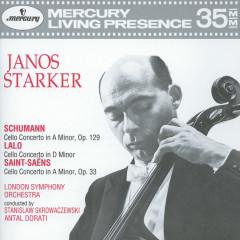 Schumann / Lalo / Saint-Saëns: Cello Concertos - Janos Starker, London Symphony Orchestra, Stanislaw Skrowaczewski, Antal Doráti