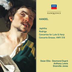 Handel: Jephtha; Rodrigo; Concertos for Lute and Harp - Osian Ellis, Desmond Dupre, Thurston Dart, Philomusica of London, Anthony Lewis