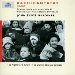 Bach, J.S.: Advent Cantatas BWV 61, 36 & 62 - Nancy Argenta, Anthony Rolfe Johnson, Petra Lang, Olaf Bär, The Monteverdi Choir