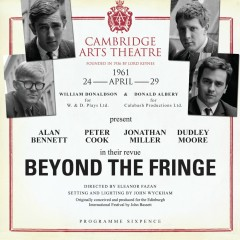 Beyond the Fringe (Live at the Cambridge Art Theatre 24th April 1961) - Alan Bennett, Peter Cook, Jonathan Miller, Dudley Moore