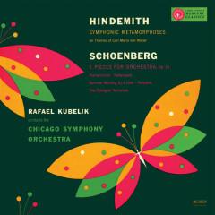Rafael Kubelík - The Mercury Masters (Vol. 9 - Hindemith: Symphonic Metamorphosis; Schoenberg: Five Pieces for Orchestra) - Rafael Kubelik