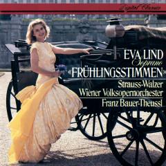 Frühlingsstimmen - Strauss Waltzes - Eva Lind, Wiener Volksopernorchester, Franz Bauer-Theussl