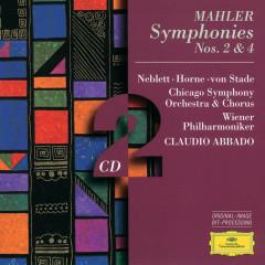 Mahler: Symphonies Nos.2 & 4 - Wiener Philharmoniker, Chicago Symphony Orchestra, Claudio Abbado