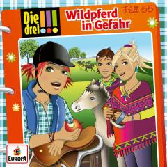 055/Wildpferd in Gefahr - Die drei !!!