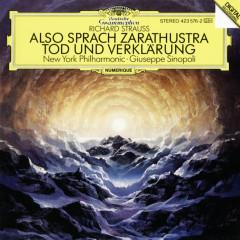 Strauss, R.: Also sprach Zarathustra, Op. 30; Tod und Verklärung, Op.24 - New York Philharmonic Orchestra, Giuseppe Sinopoli