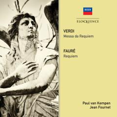 Verdi: Requiem / Faure: Requiem - Paul van Kempen, Coro dell'Accademia Nazionale Di Santa Cecilia, Orchestra dell'Accademia Nazionale di Santa Cecilia, Jean Fournet, Choeurs Elisabeth Brasseur