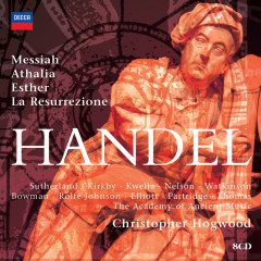 Hogwood conducts Handel Oratorios - The Academy of Ancient Music, Christopher Hogwood