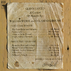 A Consort of Musicke Bye William Byrde and Orlando Gibbons ((Gould Remastered)) - Glenn Gould