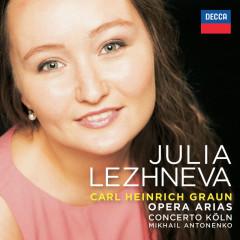 Graun: Opera  Arias - Julia Lezhneva, Concerto Köln, Mikhail Antonenko