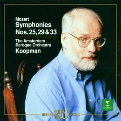 Mozart : Symphonies Nos 25, 31, 'Paris' & 41, 'Jupiter' - Ton Koopman