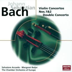 Bach, J.S.: Violin Concertos/Double Concerto - Salvatore Accardo, Chamber Orchestra Of Europe