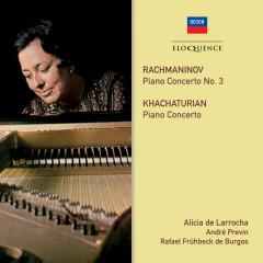 Rachmaninov & Khachaturian: Piano Concertos - Alicia De Larrocha, London Symphony Orchestra, Andre Previn, London Philharmonic Orchestra, Rafael Frühbeck de Burgos