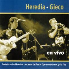 Gieco Y Heredia En Vivo - Léon Gieco, Victor Heredia