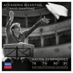 Haydn: Symphonies 78, 79, 80, 81 - Accademia Bizantina, Ottavio Dantone