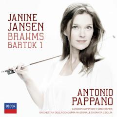 Brahms: Violin Concerto; Bartók: Violin Concerto No.1 - Janine Jansen, London Symphony Orchestra, Orchestra dell'Accademia Nazionale di Santa Cecilia, Antonio Pappano