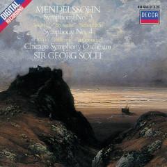 Mendelssohn: Symphonies Nos.3 & 4 - Chicago Symphony Orchestra, Sir Georg Solti
