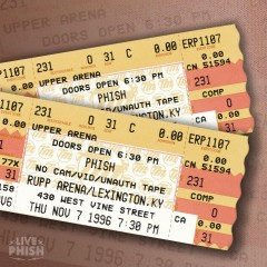 PHISH: 11/07/96 Rupp Arena, Lexington, KY (Live) - Phish
