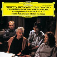 Beethoven: Triple Concerto; Overtures - Anne-Sophie Mutter, Mark Zeltser, Yo-Yo Ma, Berliner Philharmoniker, Herbert von Karajan