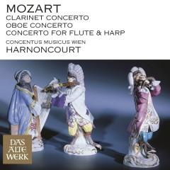 Mozart: Clarinet Concerto, Oboe Concerto & Concerto for Flute and Harp - Nikolaus Harnoncourt