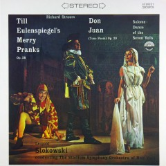 Strauss: Till Eulenspiegel - Salome - Don Juan - Stadium Symphony Orchestra of New York, Leopold Stokowski