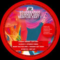 Holographic Summer Sampler 1 - Various Artists