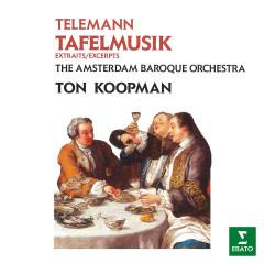 Telemann: Tafelmusik - Ton Koopman