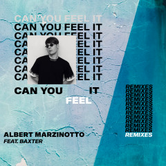 Can You Feel It (The Remixes) - Albert Marzinotto, Baxter