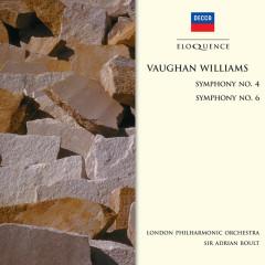 Vaughan Williams: Symphony No.4;  Symphony No.6 - London Philharmonic Orchestra, Sir Adrian Boult