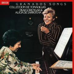 Granados: Tonadillas; Cancíones Amatorias - Pilar Lorengar, Alicia De Larrocha