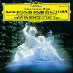 Mozart: Clarinet Concerto K.622; Flute & Harp Concerto K.299 - Alfred Prinz, Wolfgang Schulz, Nicanor Zabaleta, Wiener Philharmoniker, Karl Böhm