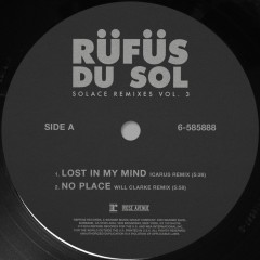 SOLACE REMIXES VOL. 3 - RÜFÜS DU SOL
