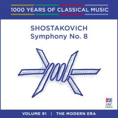 Shostakovich: Symphony No. 8 (1000 Years Of Classical Music, Vol. 91) - Adelaide Symphony Orchestra, Nicholas Braithwaite