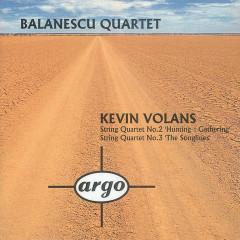 Volans: String Quartets Nos.2 & 3 - Balanescu Quartet