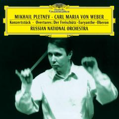 Weber: Konzertstück; Overtures: Der Freischütz · Euryanthe · Oberon - Russian National Orchestra, Mikhail Pletnev