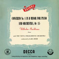 Brahms: Piano Concerto No. 1 - Wilhelm Backhaus, Wiener Philharmoniker, Karl Böhm
