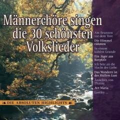 Männerchöre singen die 30 schönsten Volkslieder - Various Artists