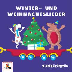 Kinderliederzug - Winter- und Weihnachtslieder - Lena,  Felix & die Kita-Kids