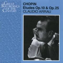 Etudes Op 10 & Op 25 - Chopin - Claudio Arrau