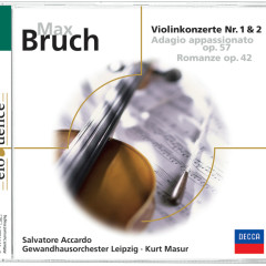 Bruch: Violinkonzert - Salvatore Accardo, Gewandhausorchester Leipzig, Kurt Masur