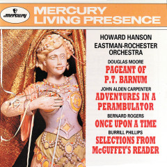 Howard Hanson Conducts - Moore/Carpenter/Rogers/Phillips - Eastman-Rochester Orchestra, Howard Hanson