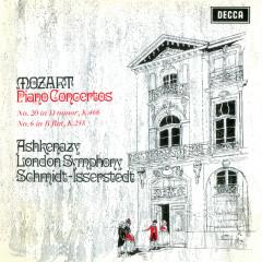 Mozart: Piano Concertos Nos. 6 & 20 - Vladimir Ashkenazy, London Symphony Orchestra, Hans Schmidt-Isserstedt